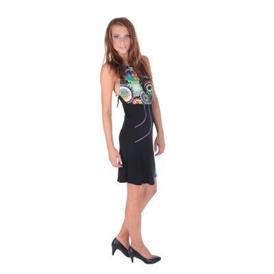 Letné šaty Meriel so zaväzovaním za krk - 2