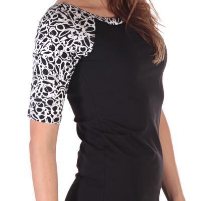 Elegantné dámske šaty Black - 2