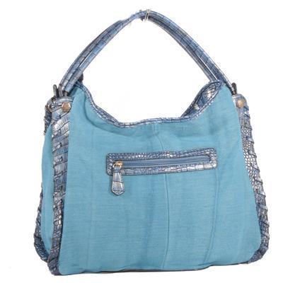Stylová modrá kabelka Tomas 3D - 2