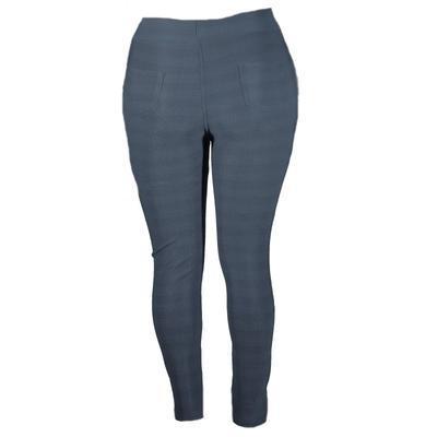 Zimní kalhotové legíny Kessi tmavě šedé - 2