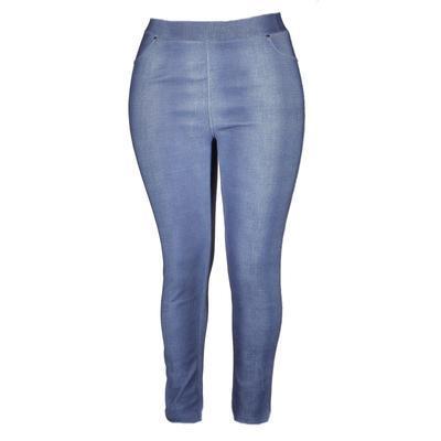 Zimní modré kalhotové legíny Bohdan - 2