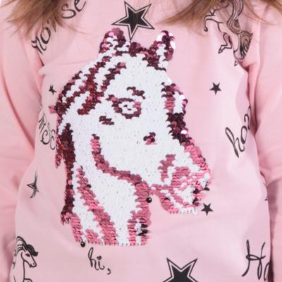 Světle růžové měnící tričko Sulejka - 2