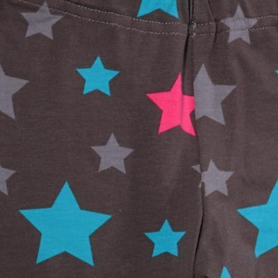 Dievčenské hviezdičkové dlhé legíny Star - 2