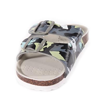 Detské papuče Army zelené - 2