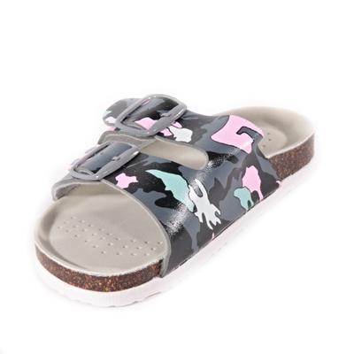 Detské papuče Army ružové - 2