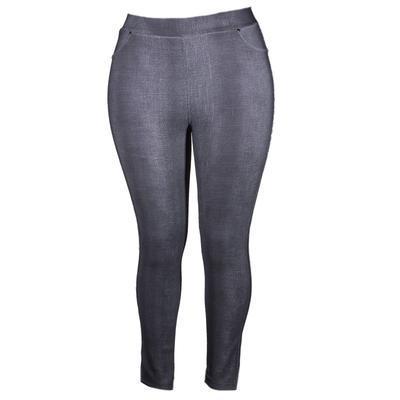 Zimní černé kalhotové legíny Bohdan - 2