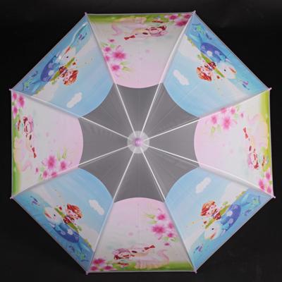 Detský vystreľovací dáždnik Tim fialový - 2