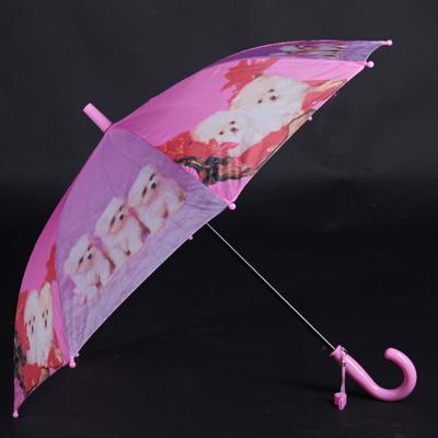 Holový detský dáždnik Kara ružový - 2