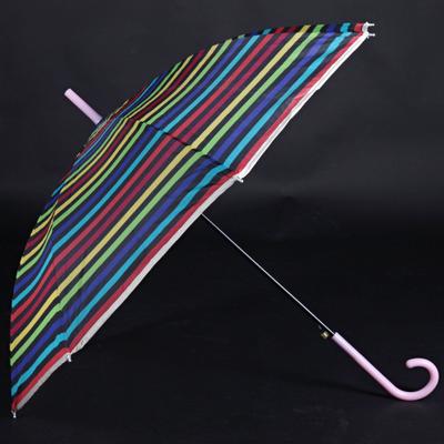 Pruhovaný dáždnik Dora farebný - 2