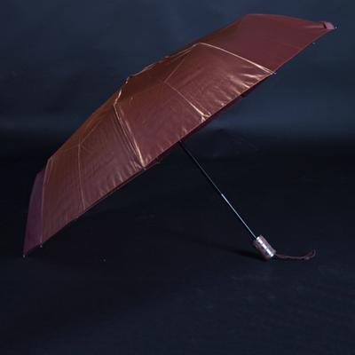 Luxusný dámsky skladací dáždnik DARSI hnedý - 2