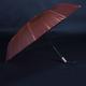 Luxusný dámsky skladací dáždnik DARSI hnedý - 2/2