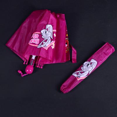 Skladací detský dáždnik Samson ružový - 2
