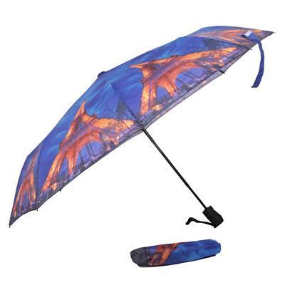 Malý skladací dáždnik Robert motív Eiffelova veža - 2