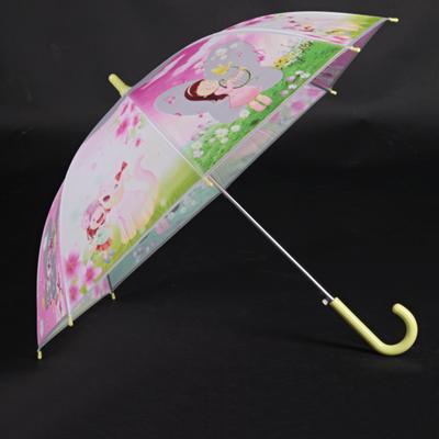 Detský vystreľovací dáždnik Tim žltý - 2