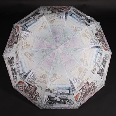 Štýlový skladací dáždnik Cars farebný - 2