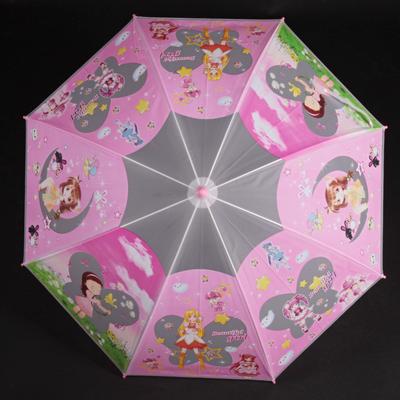 Detský vystreľovací dáždnik Tim ružový - 2