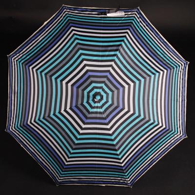 Pruhovaný dáždnik Dora modrý - 2