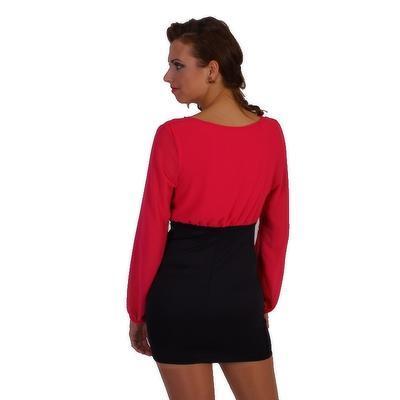 Stylové šaty Marika růžové - 2