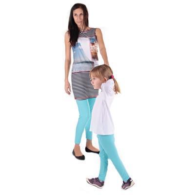 Detské legíny Cruso svetlo modré od 98-116 - 2