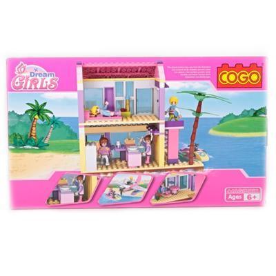 Stavebnice Scarlet - dům na pláži - 2