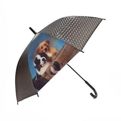 Vystřelovací deštník Puppy černý - 3
