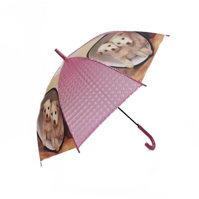Vystřelovací deštník Puppy červený - 3