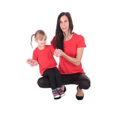 Červené detské tričko krátky rukáv Laura od 122-146 - 3