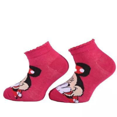 Kotníkové dívčí ponožky Minnie Mause P4c CR  - 3