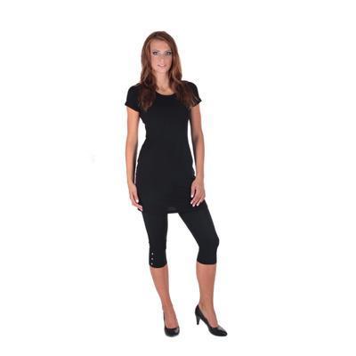 Decentné čierne šaty Nagel - 3