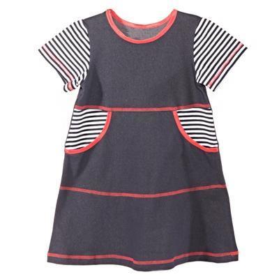Dievčenské šaty krátky rukáv Lucie - 3