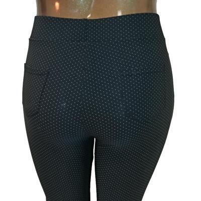 Moderní kalhotové legíny Dakota černé - 3