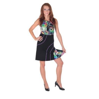 Letné šaty Meriel so zaväzovaním za krk - 3