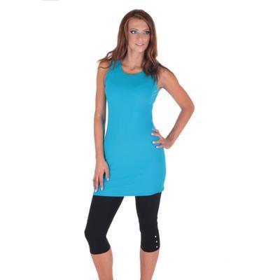Tmavo modré letné šaty Pandora - 3