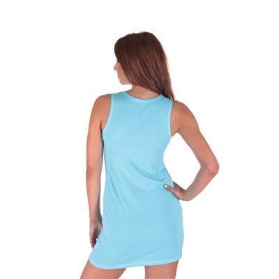 Letné šaty Pandora svetlo modré - 3