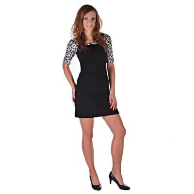 Elegantné dámske šaty Black - 3