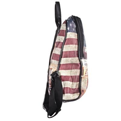 Štýlový batoh Natálie motív Amerika 2A - 3