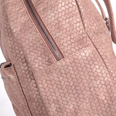 Stylový hnědý batoh Enie - 3