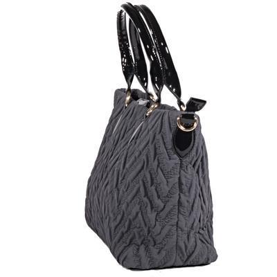 Atraktivní dámská šedá kabelka Sky 2D - 3