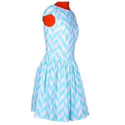 Tyrkysové šaty Bethany - 3