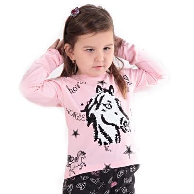 Světle růžové měnící tričko Sulejka - 3