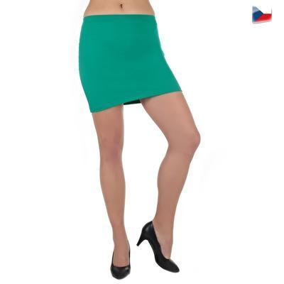 Tmavo zelená sukne Ashly - 3