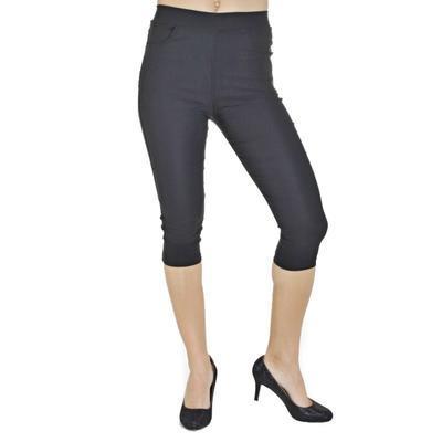Nohavicové legíny Megan čierne - 3