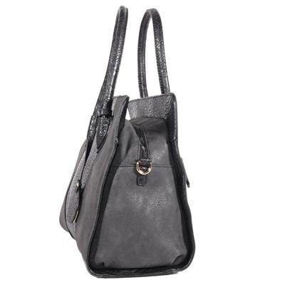 Elegantní černá kabelka Gipy - 3