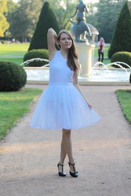 Bílá tutu sukně Adriana - 3