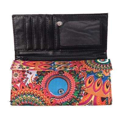 Luxusná dámska peňaženka Ella oranžová - 3