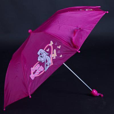 Skladací detský dáždnik Samson ružový - 3