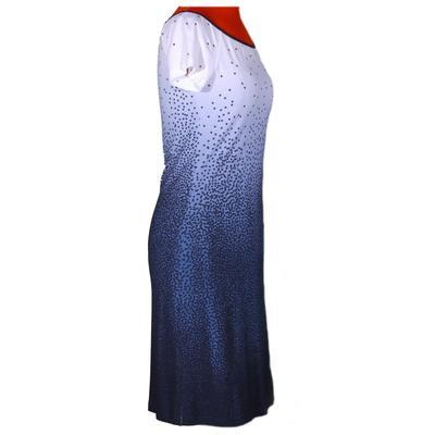 Modré šaty Melody s potiskem - 4