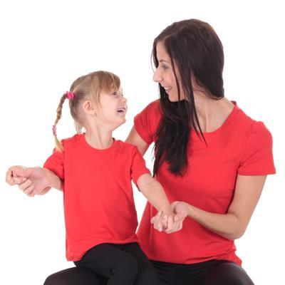 Červené detské tričko krátky rukáv Laura od 122-146 - 4