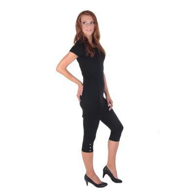Decentné čierne šaty Nagel - 4