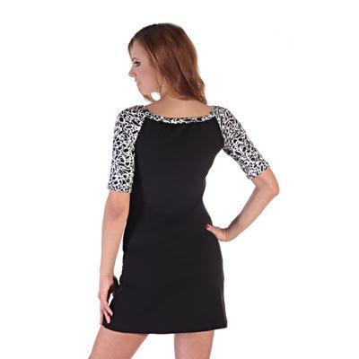 Elegantné dámske šaty Black - 4